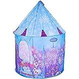 Barraca Portátil Castelo da Frozen Mimo Style Azul/Roxo
