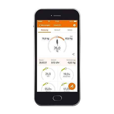Beurer BF 800 - Báscula de baño diagnóstica Bluetooth, compatible con App en español Health Manager, color negro: Amazon.es: Salud y cuidado personal