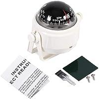 VGEBY1 kompas boot, instelbare navigatie nachtzicht kogelkompas bootskompas met houder voor boot auto motorfiets…