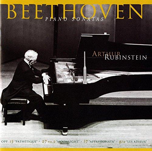 Rubinstein Collection, Vol. 56 - Beethoven: Piano Sonatas Nos. 8, 14, 23, & 26