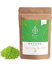 ORGANIC Japanese Matcha Green Tea Powder - 100 Grams - 200 Serves - CEREMONIAL GRADE Matcha Green Tea Powder - Ideal for Matcha Latte, Smoothies, Baking, Ice Cream