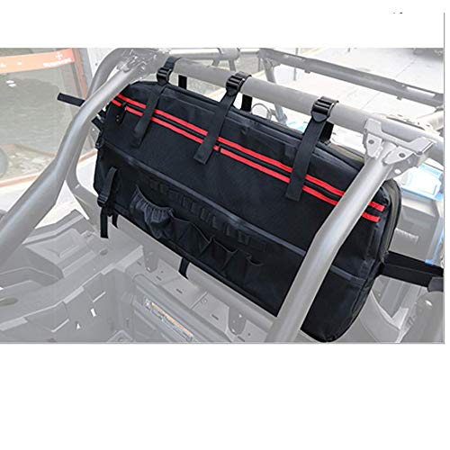 UTV Rear Storage Bag KEMIMOTO Cargo Bag Roll Cage Organizer Universal Fits Polaris RZR Ranger 570 800 900 1000 / S 900 1000 XP Turbo