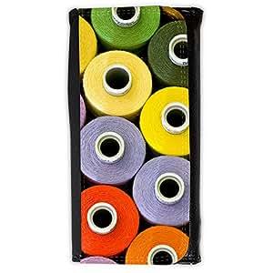 le portefeuille de grands luxe femmes avec beaucoup de compartiments // V00002539 Hilo de coser patrón // Large Size Wallet