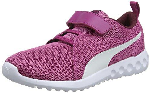 Sneakers Rose 2 Ps magenta 13 Carson Mixte Enfant Basses V Haze Puma puma White wqIgx5aRx