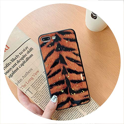 Amusing Bling Glitter Universe Planet case for iPhone Xs MAX 7 8 Plus Cartoon Marble Cases for iPhone X 7 8 6s Huawei P20 Lite P10,Tiger Print,for P20 Lite nova 3e