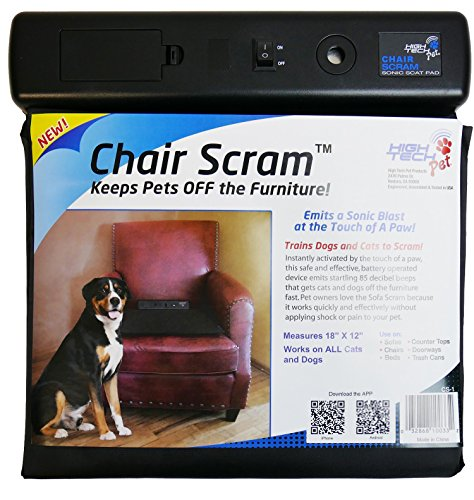 Chair Scram Sonic Dog & Cat Deterrent Repellent Mat (2 Pack)