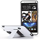 Poetic Invictus Hybrid Case for HTC One Max White/Gray (3 Year Manufacturer Warranty From Poetic)