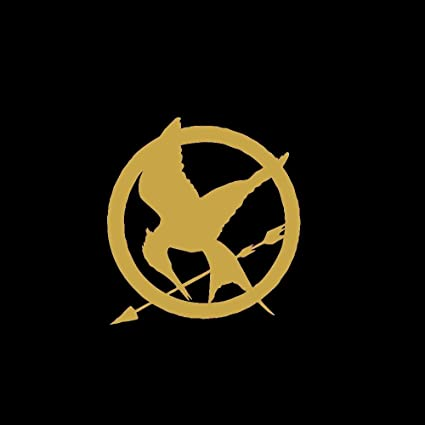 Amazon Hunger Games Mockingjay Symbol Small Car Window Decal