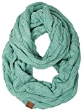 S1-6100-54 Funky Junque Infinity Scarf - Mint (Solid)