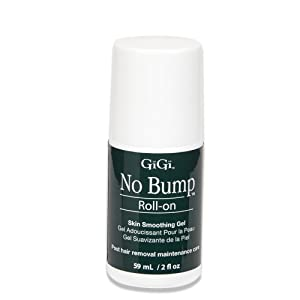 GiGi No Bump Roll-on Skin Smoothing Gel, Post-Wax and After Shave Skin Care, 2 oz