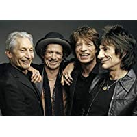 (A2-594x420MM) - Rolling Stones The Group Poster (A2-594x420MM)