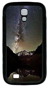 Samsung S4 Case Milky Way and Maroon Bells TPU Custom Samsung S4 Case Cover Black WANGJING JINDA