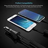 Syncwire iPhone USB Car Charger - Upgrade 4.8A/24W