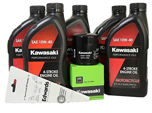 - 2012 Kawasaki NINJA ZX-14R Oil Change Kit