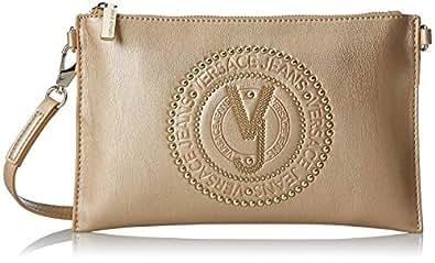 Versace Jeans - Ee3vsbpr9, Carteras Mujer, Dorado (Oro), 1x16x26 cm (