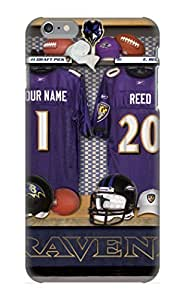 Ideal Gift - Tpu Shockproof/dirt-proof Baltimore Ravens Nfl Football F Cover Case For Iphone(6 Plus) With Design
