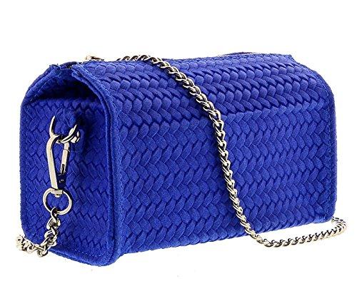 Electric PIA AZ Crossbody Leather Bag Blue HS1152 Wristlet EqavZRxx