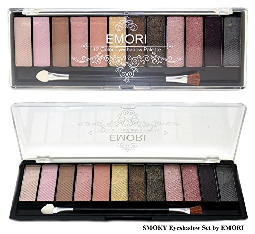 Elegant 36 Natural, Smoky, Ultra Color Eyeshadow Pro Makeup kit