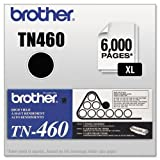 Brother TN460 High-Yield Toner, 6000 Page-Yield, Black