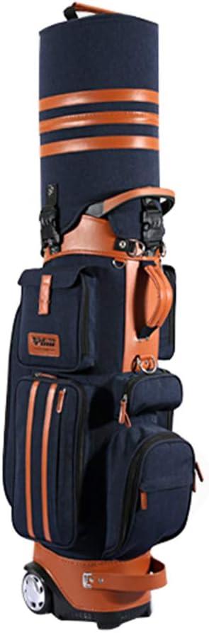 Golf Bag with Wheels, Nylon Waterproof