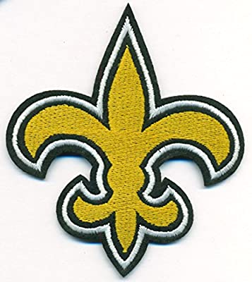 New Orleans Saints Logo Football NFL Embroidered Iron On Patches Hat Jersey
