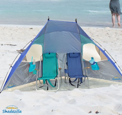 Super – Wide Beach Cabana – UPF 100, Outdoor Stuffs