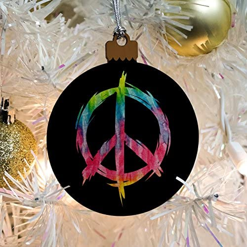 Hippy Christmas Tie dye Ornaments Personalized Tie dye Christmas Stocking Rainbow Tie dye Colorful Christmas Tree Ornaments Boho Gifts