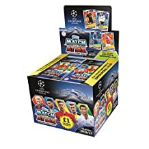 2016-17 TOPPS CHAMPIONS LEAGUE MATCH ATTAX 50 PACK BOX (450 CARDS) DO NOT CONFUSE WITH SMALLER 300 CARD BOXES! LOOK FOR MESSI, NEYMAR, RONALDO & MORE!