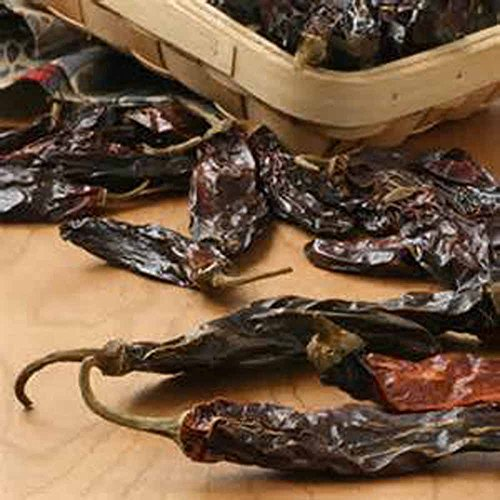 Serrano Pepper, Whole Dried Smoked Serrano Pepepr, Spice, Seasoning, Organic, (8 ounce pkg), Sold by Jacobs Ladder Ent.