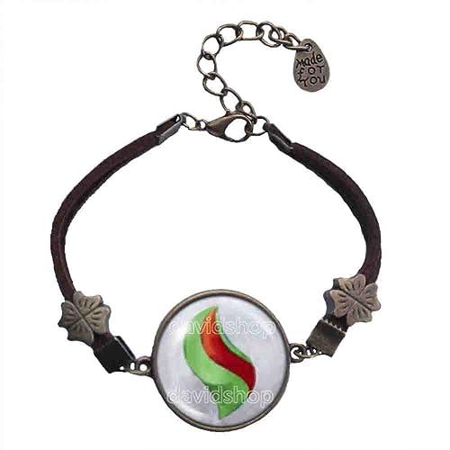Amazon Pokemon Galladite Mega Stone Bracelet Symbol Pendant