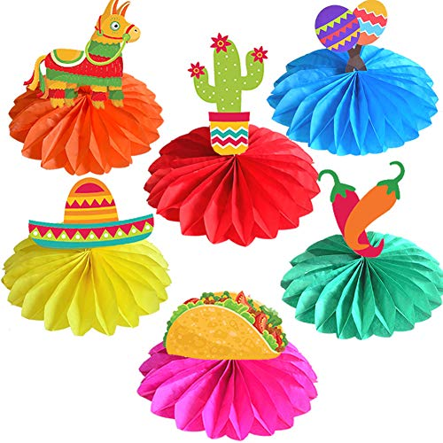 Fiesta Centerpieces - Cinco De Mayo Fiesta Party Table