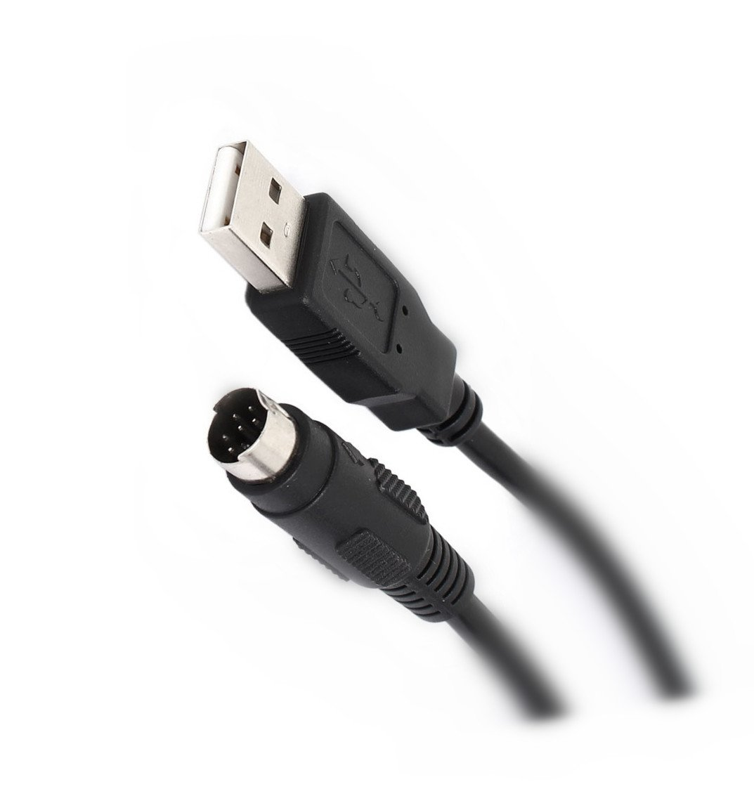 EZSync FTDI USB to RS232 Program Cable for Kenwood Radio, PG-5G, 8 pin Mini-DIN, EZSync702