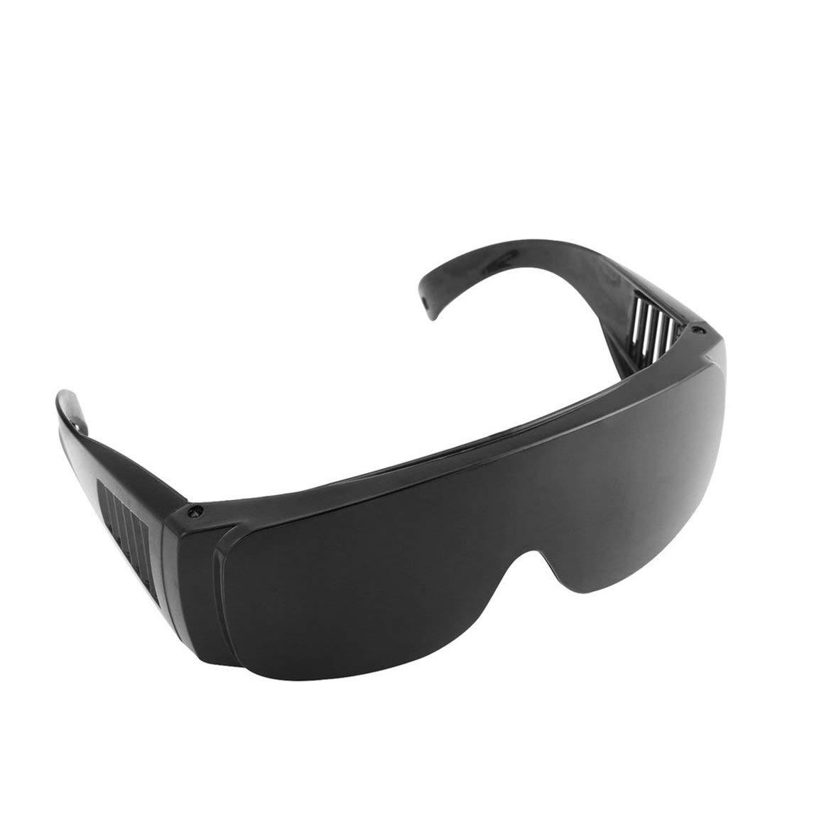 Funnyrunstore Sicherheits Augenschutz Staubdicht Brille Schwei/ßen Schutzbrille Opt//E Licht//IPL//Photon Sch/önheit Instrument rot Laserschutzbrille Farbe: schwarz