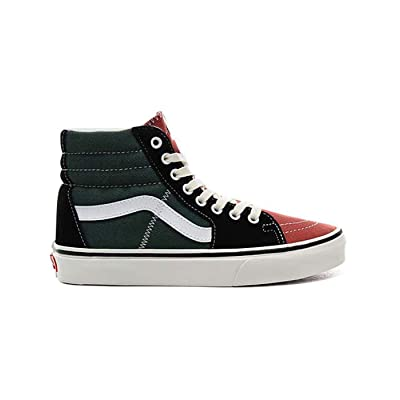 Vans Sk8-Hi Varsity Multi/Blanc De Blanc Womens 7.5 / Mens 6 | Fashion Sneakers