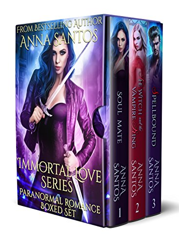 Immortal Love Series: Paranormal Romance (Boxed Set Book 1-3)