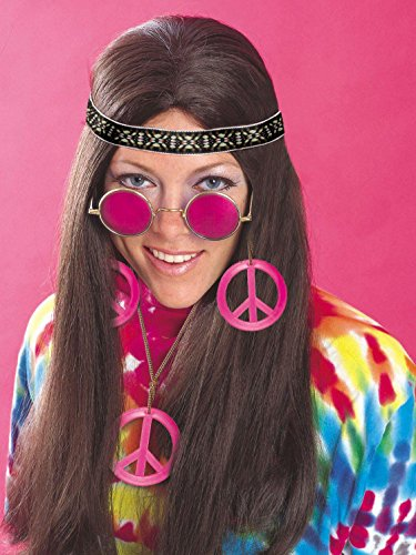 (Rubie's Feeling Groovy Female Hippy Accessory Kit, Multicolored, One)
