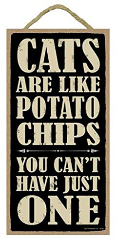 SJT. Los Gatos Son como Patatas Chips, no Puede Tener sólo ...