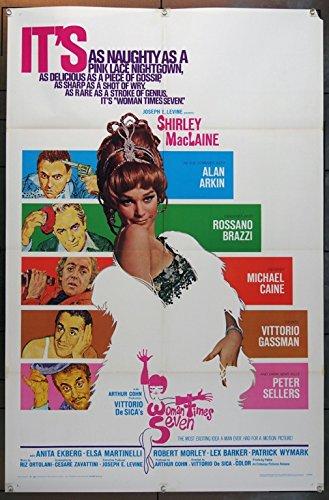 Sette Volte Donna (1967) [Woman Times Seven] One Sheet Poster (27x41)