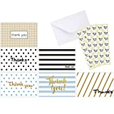 There's nothing like a handwritten card filled with your heartfelt thanks. It's the simplest way to express your gratitude, and yet the most sincere way of doing so. And with the Ohuhu Thank You Cards, you'll be writing your thank you note with style...