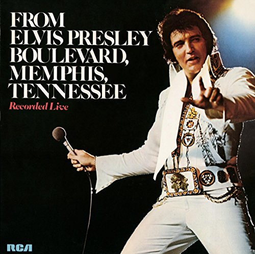 CD : Elvis Presley - From Elvis Presley Boulevard Memphis Tennessee (CD)