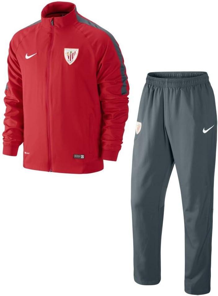 Nike - Chándal de Hombre Athletic Club de Bilbao Squad 2014-2015 ...
