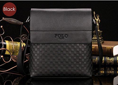 POLO VIDENG - Bolso bandolera de piel sintética 26x23x3: Amazon.es ...