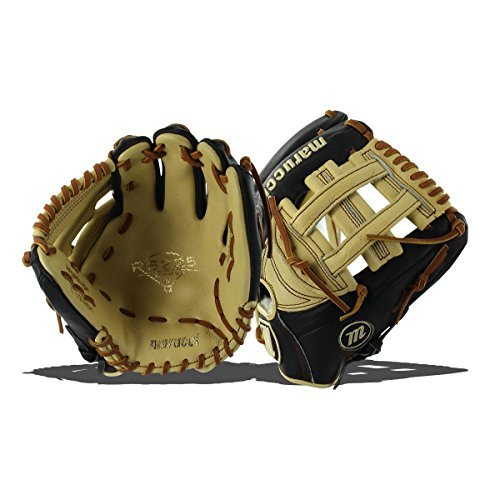 Marucci MFGRS115H-BK/MS-LH RS225 Series Baseball Fielding Gloves, Black/Mesa, 11.5'' by Marucci (Image #1)