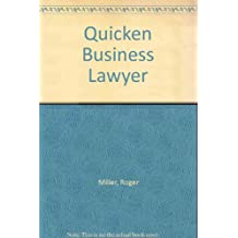 Quicken Business Lawyer 2000 Cd-Rom and Applications
