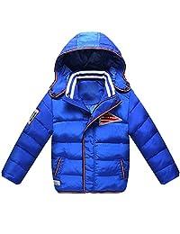iikids Kids Boys Warm Snowsuit Hooded Winter Outwear