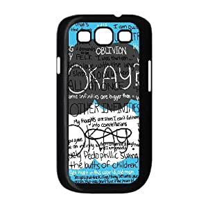 TOSOUL Phone Case Okay Hard Back Case Cover For Samsung Galaxy S3 I9300