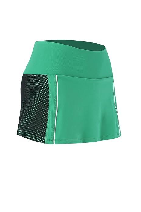 Naffta Running - Falda-pantalón para Mujer, Color Verde Hierba ...
