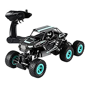 ESGOT ES-V819 RC Truck 1:14 2.4GHz 6WD High Speed RC Off-road Vehicle with 3 Strong Motors