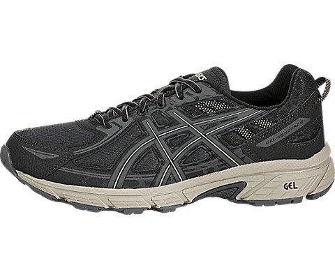 ASICS Men's Gel-Venture 6 Black/Dark Grey High Running Shoe - 7.5M by ASICS