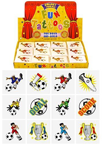 Mini Tatouage Temporaire Football Fete Enfant Garcon X 12 Amazon Fr